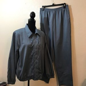 Alfred Dunner sport suit SZ 12
